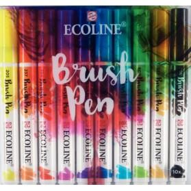 Set Ecoline Brush Pen 10