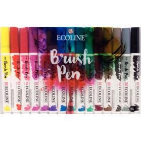 Set Ecoline Brush Pen 15