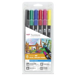 Set Tombow 6 Primary Color