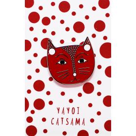 NI Yayoi Catsama Pin