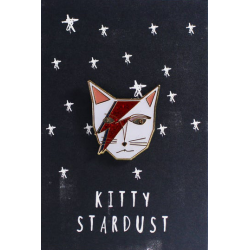 NI Kitty Stardust Pin