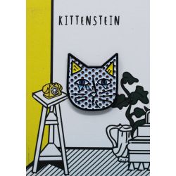 NI Kittenstein Cat Pin