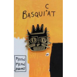 NI Basquiat Cat Pin