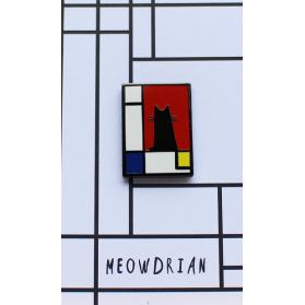 NI Meowdrian Pin