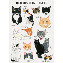 Cuaderno Bookstore Cats