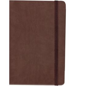 Cuaderno hojas marrones A5