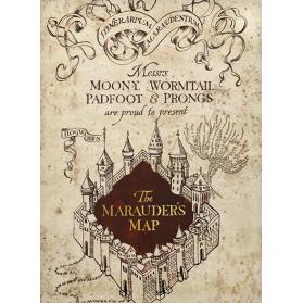 MI Marauder's Map Postal