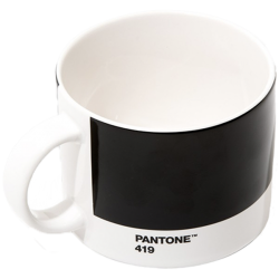 Taza de te Pantone 419 Negro
