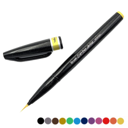 Pentel Sign Pen amarillo