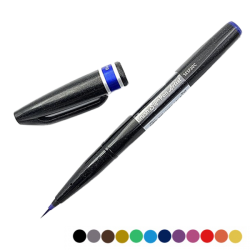 Sakura Pigma Brush azul