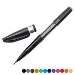 Pentel Sign Pen gris