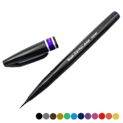Pentel Sign Pen morado