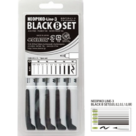 Neopiko Line-3 Set B negro