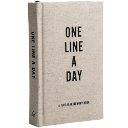 One line a Day Canvas