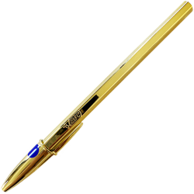 Bic Cristal Oro (Azul)