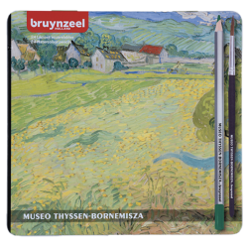 Caja 24 acuarelables Bruynzeel