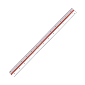 Escalímetro 30cms
