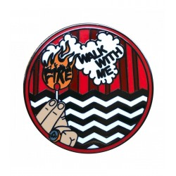LB Fire Walk with me pin