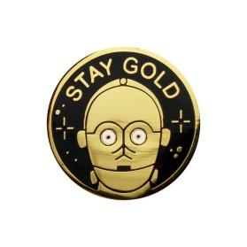 LB Stay Gold pin