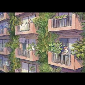 HE Urban Jungle Postal