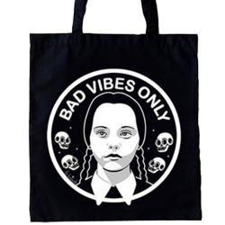 LB Tote Bad Vibes Only