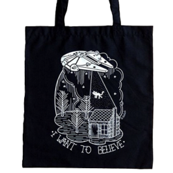 LB Tote I Want To Believe