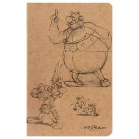Cuaderno Astérix y Obélix A5