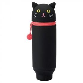 Estuche Lihit Lab Gato negro