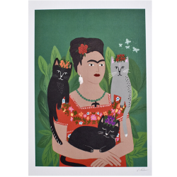 NI Frida and her Catlos