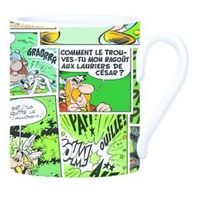 Taza Asterix verde