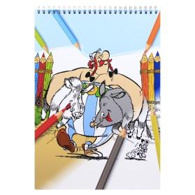 Cuaderno de colorear Astérix