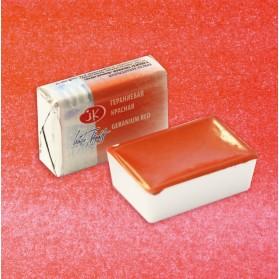 364 Geranium red White...