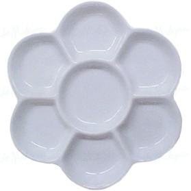 Paleta flor porcelana 15cm