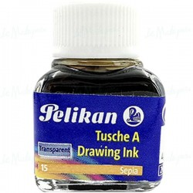 Tinta China Pelikan sepia