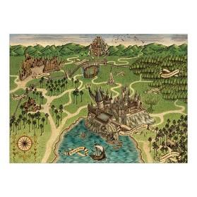 Poster Hogwarts Map