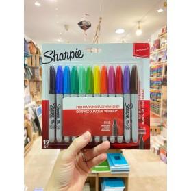 Sharpie Fine 12 colores
