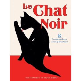 20 postales Le Chat Noir