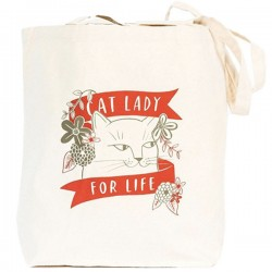 Tote Bag Cat Lady