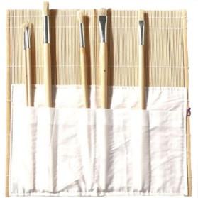 Portapinceles Bambú 33x33