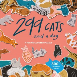 Puzzle 299 Cats (and a dog)