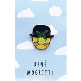 NI Rene Magritte Pin
