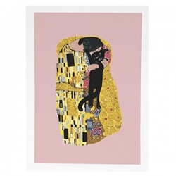 NI Klimt Cat Kiss