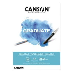 Canson Graduate Acuarela A5