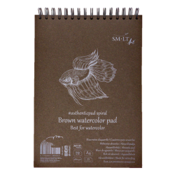 Brown Watercolour Pad