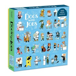 Puzzle 500 Dog With Jobs
