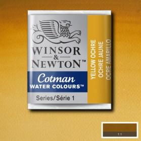 W&N 744 Yellow Ochre pastilla