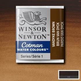 W&N 676 VanDycke Brown...
