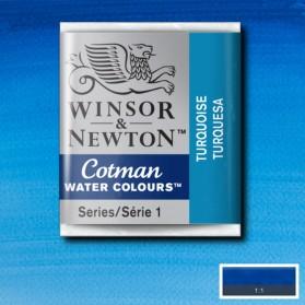 W&N 654 Turquoise pastilla