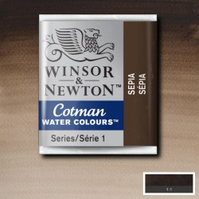 W&N 609 Sepia pastilla