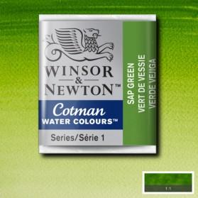 W&N 599 Sap Green pastilla